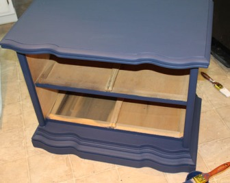 Shell of the dresser