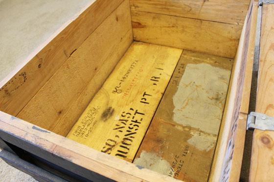 Crate inside