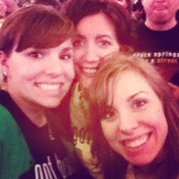 Me, Jill and Em at the show