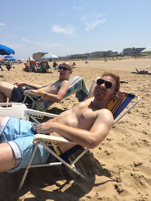 Relaxin' at the beach