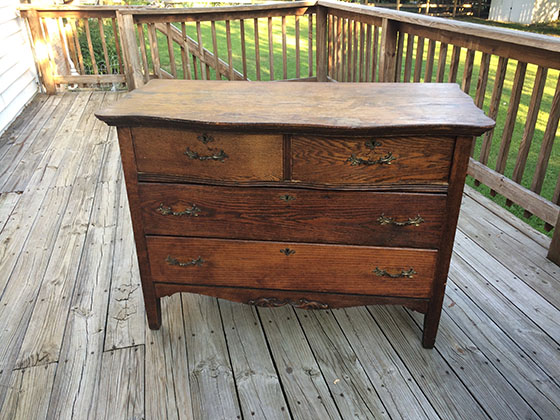 Antique Dresser_Before
