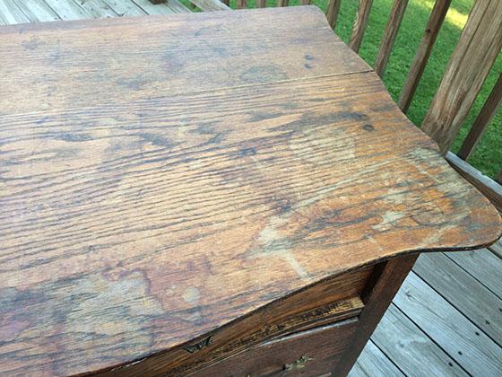 Antique Dresser_Before_Top
