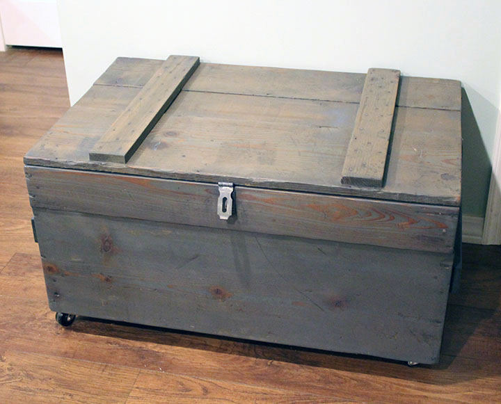 Crate iside