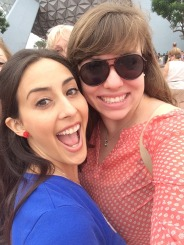 Epcot-Me and Allie