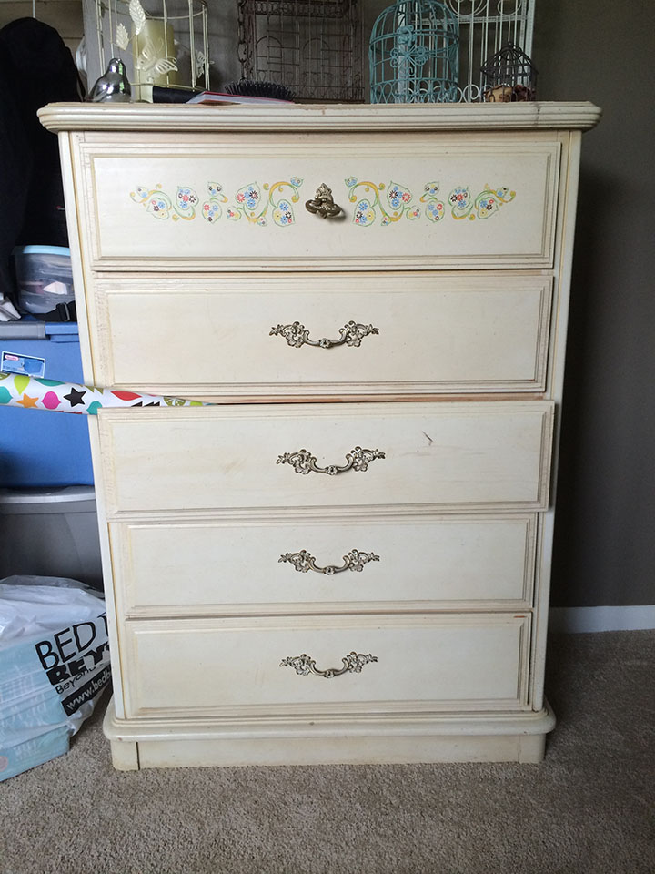 Painted Dresser_Before