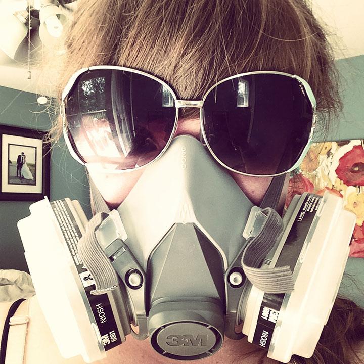 Painted Dresser_Mask