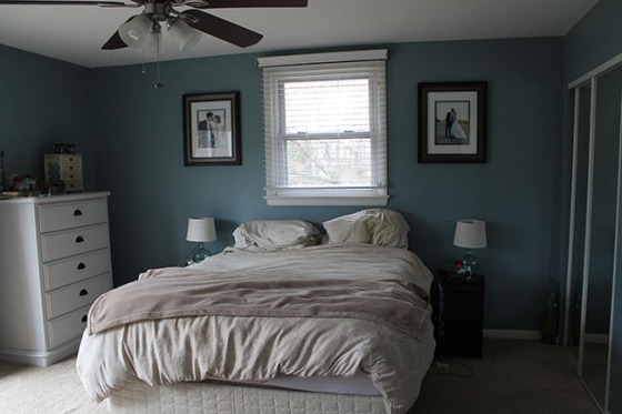 A Smith of All Trades_Master Bedroom_bed before
