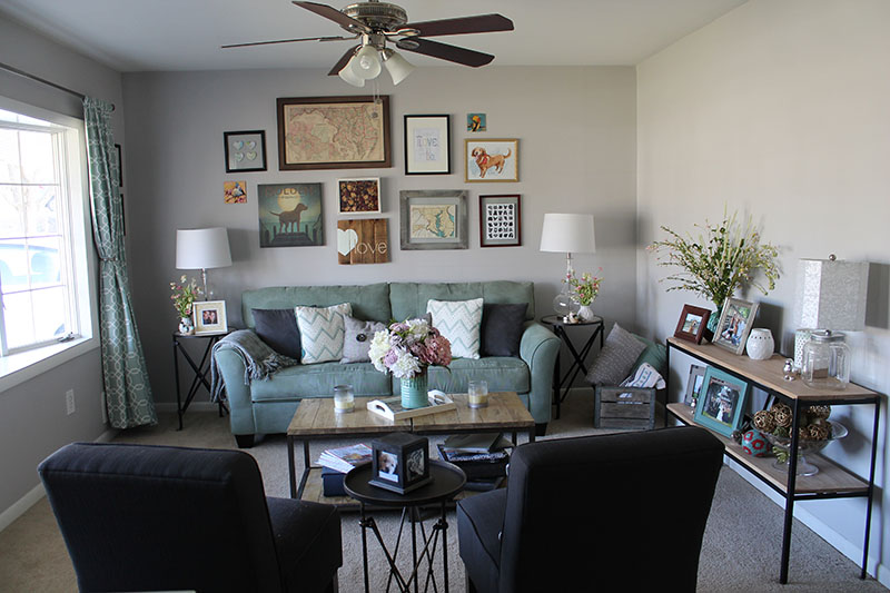 Gallry Wall_Living Room