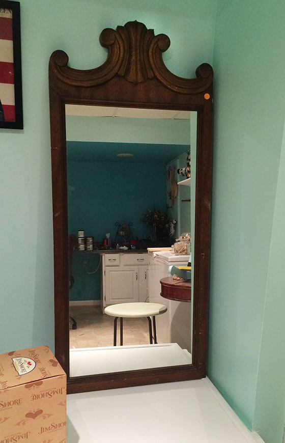 Traditional Mirror Before