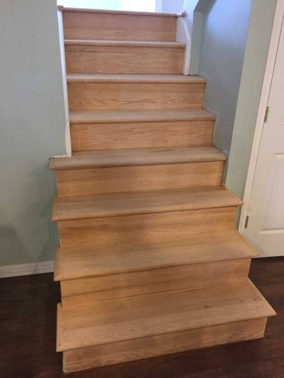 stairssanded